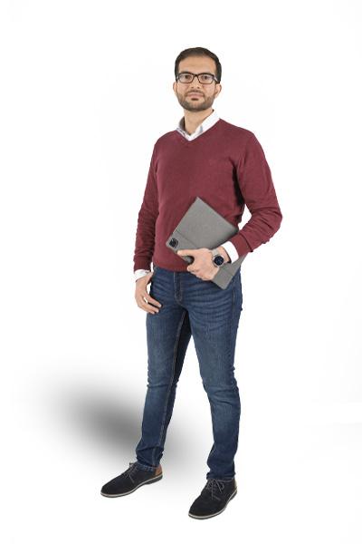 Mohammed Ibrahim Projektleiter