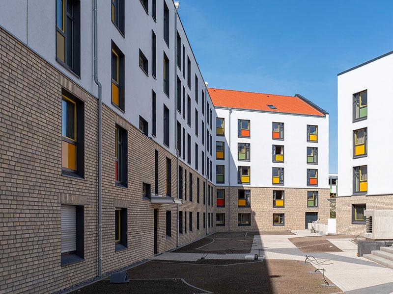 estecasa Studierenden Wohnanlage inkl. Tiefgarage und Seminargebäude Ratherstraße, Düsseldorf