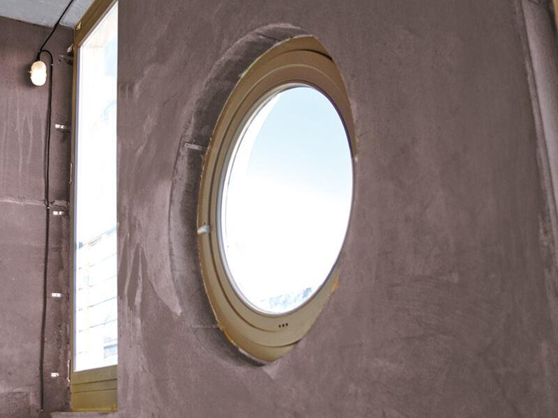 vorgefertigte Fensteröffnungen