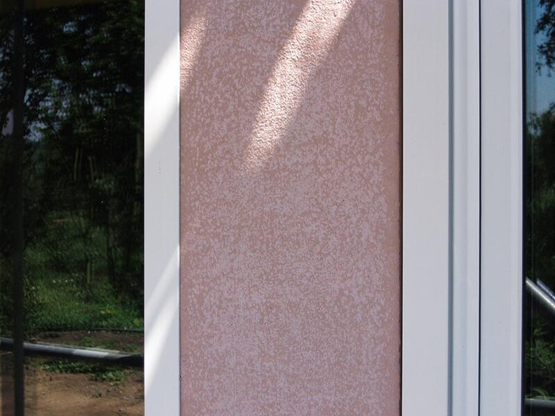 vorgefertigte Wandelemente mit Fensteröffnungen